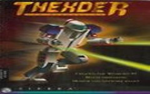 Thexder 95 - title cover