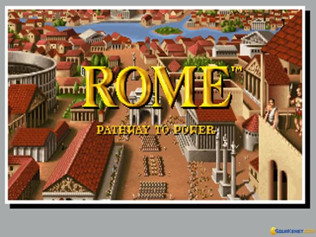 Rome: Pathway to Power - game cover