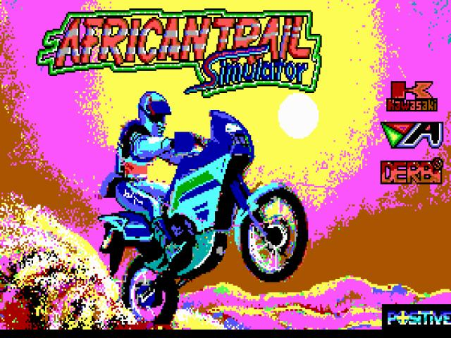 African Trail Simulator - title cover