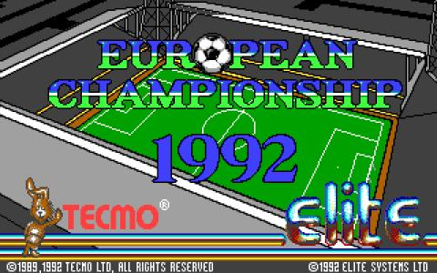 European Championship 1992 - title cover