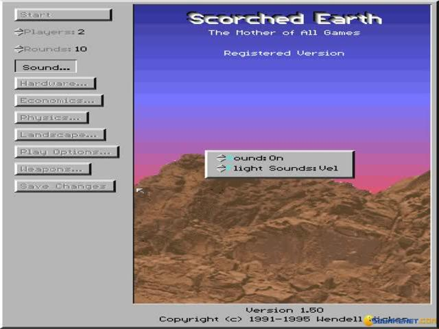 Scorched Earth - title cover