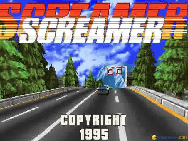Screamer - game cover