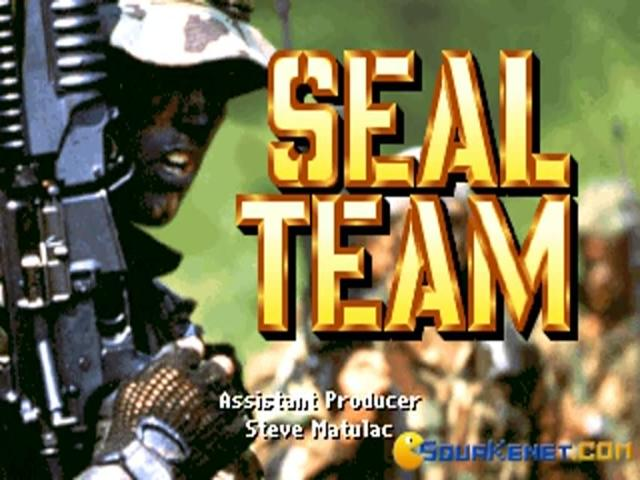 Seal Team - title cover