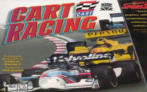 CART Racing - title cover