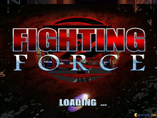 Fighting Force - title cover