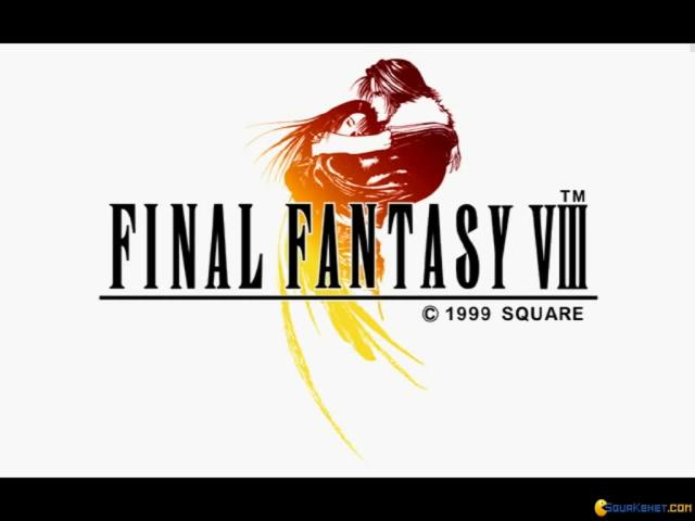 Final Fantasy VIII - title cover