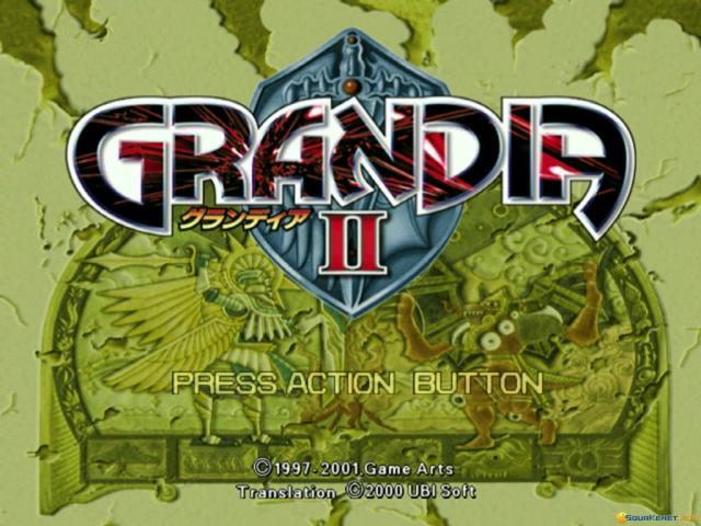 Grandia II - game cover