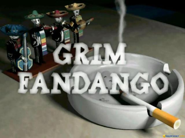 Grim Fandango - game cover