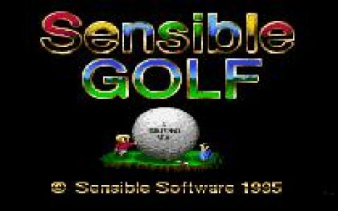 Sensible Golf - game cover