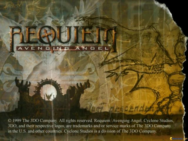 Requiem: Avenging Angel - title cover