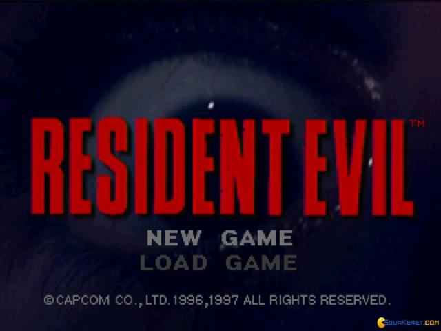 Resident Evil - title cover