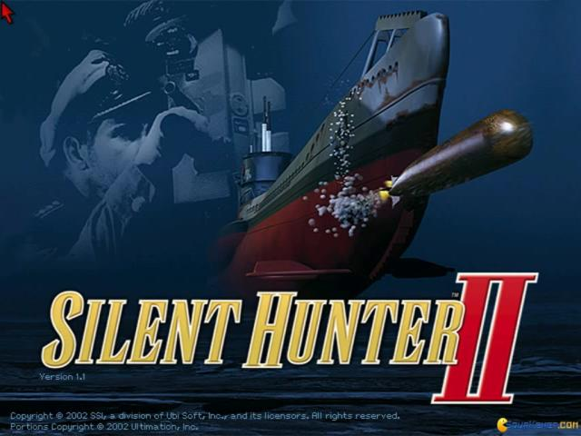 Silent Hunter II - game cover
