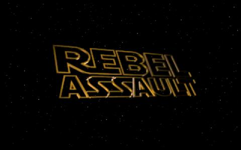 Star Wars: Rebel Assault - title cover