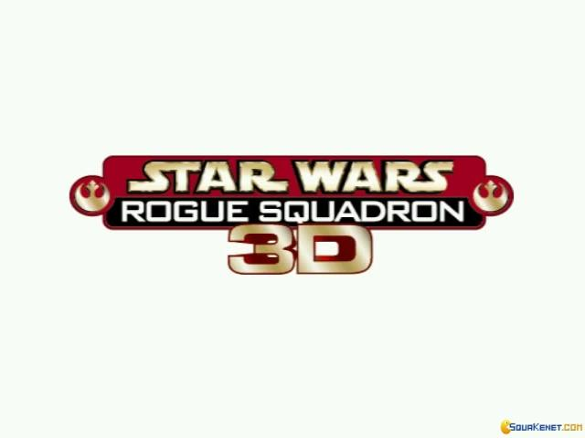 Star Wars: Rogue Squadron 3D - title cover
