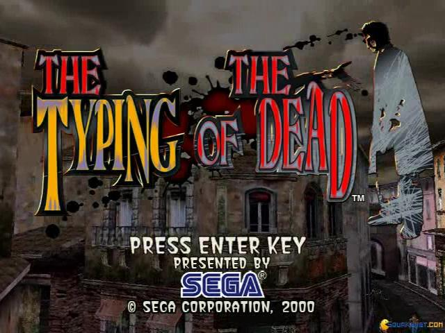 The Typing of the Dead - title cover