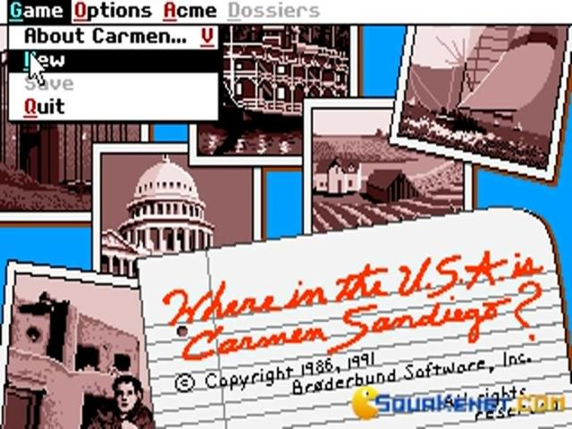Where in the U.S.A. is Carmen Sandiego? - title cover