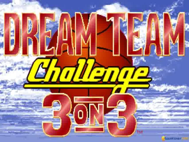 Dream Team - 3 on 3 Challenge - game cover