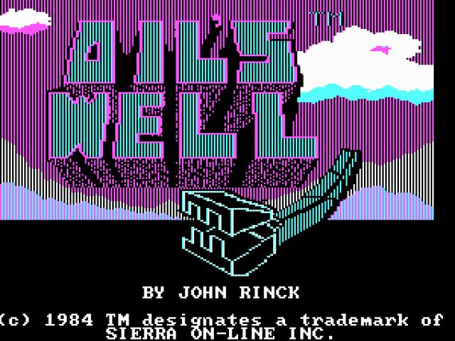 Oil's Well - title cover