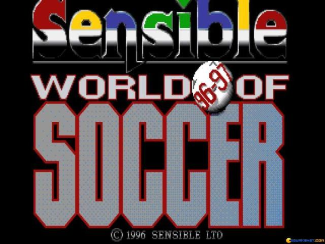 Sensible World of Soccer 96/97 - game cover