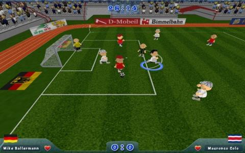 Slam Soccer 2006 - game cover
