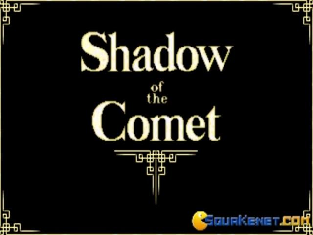 Shadow of the Comet - title cover
