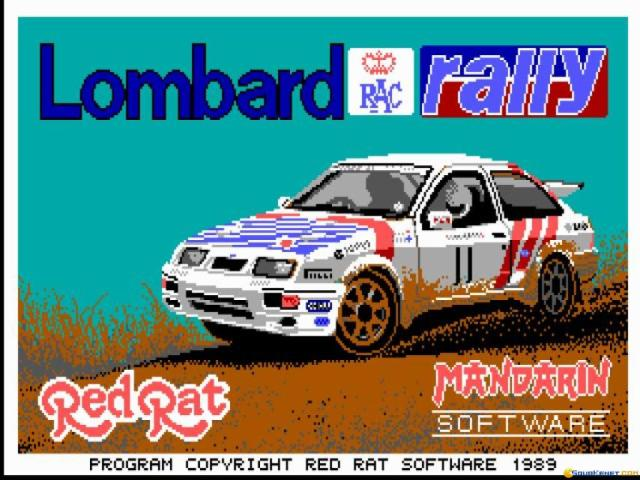 Lombard RAC Rally - title cover
