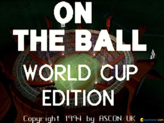 On the Ball: World Cup Edition - game cover