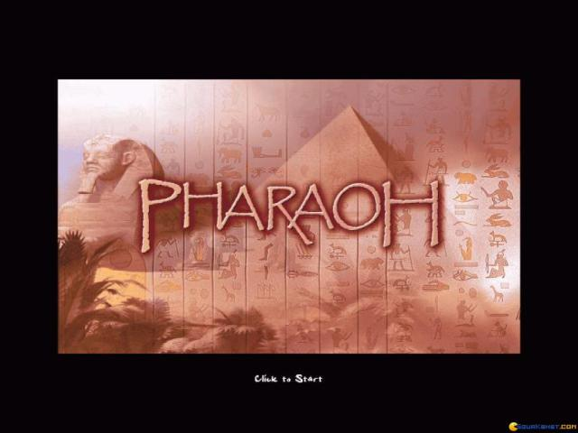 Pharaoh - game cover
