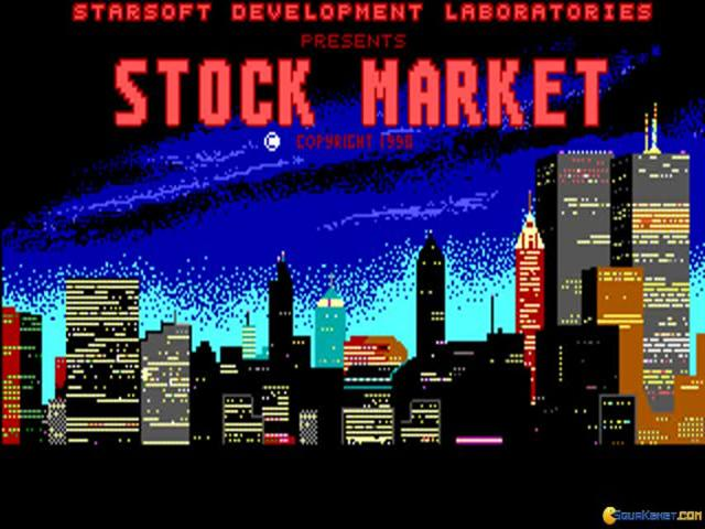 Stock Market - The Game - game cover