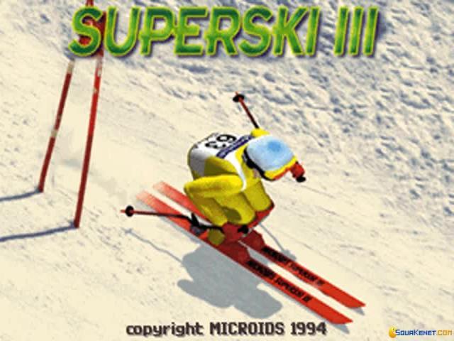 Super Ski 3 - title cover