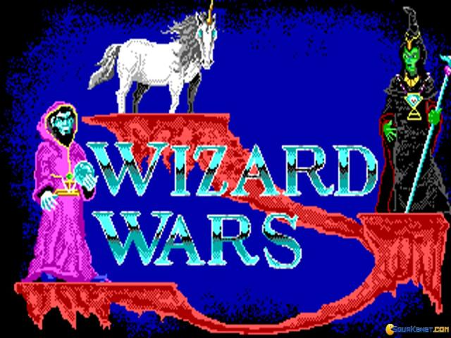 Wizard Wars - title cover