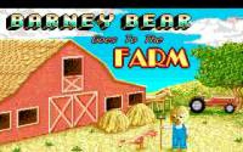 Barney Bear Goes to Farm - title cover
