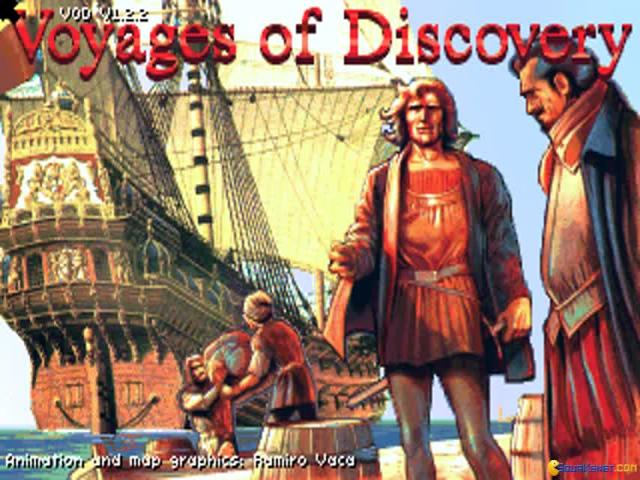 Exploration - Voyages of Discovery - game cover
