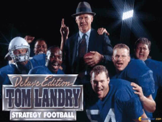 Tom Landry Strategy Football - title cover