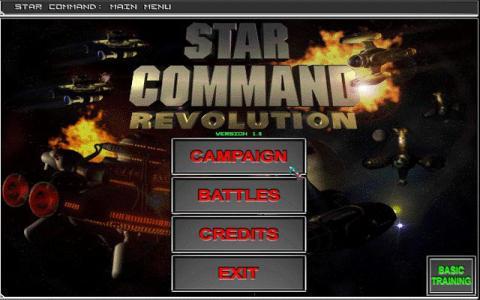 Star Command Revolution - title cover