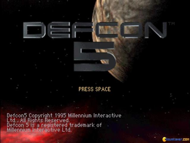 Defcon 5 - game cover