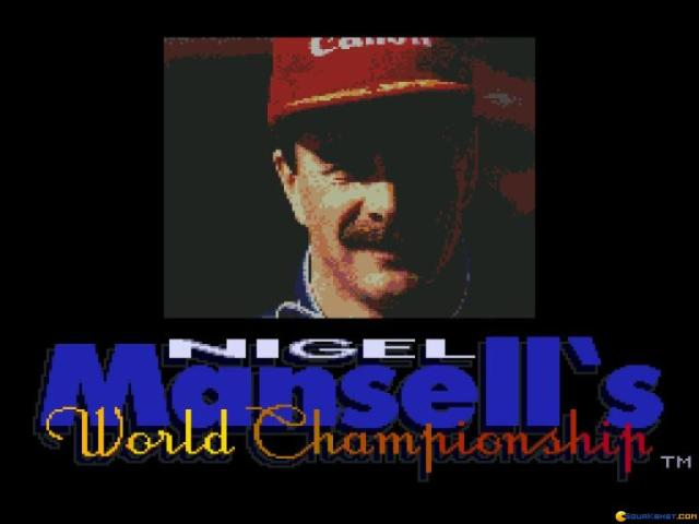 Nigel Mansell World Championship - title cover