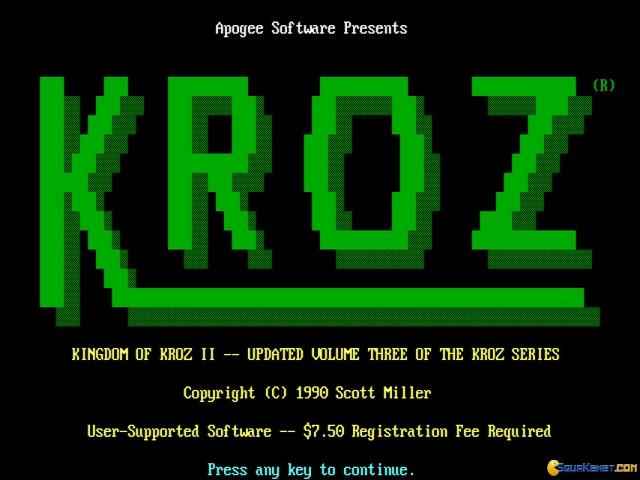 The Complete Kroz Series - game cover