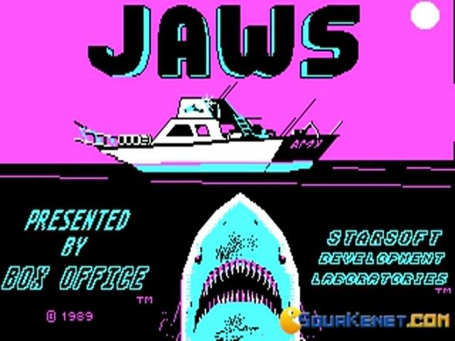 Jaws - title cover