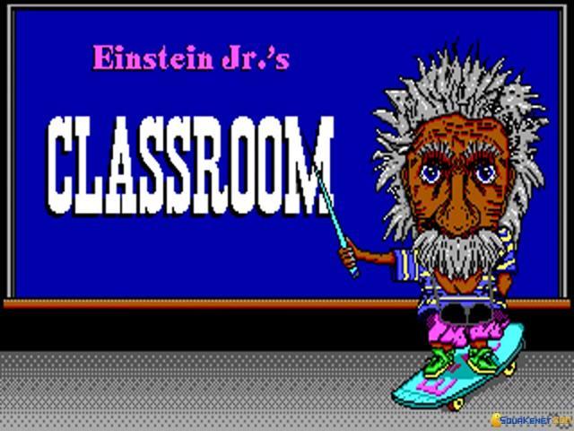 Einstein Jr. Classroom - title cover