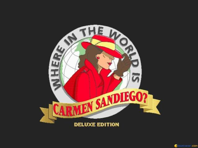 Where in the World is Carmen Sandiego? Deluxe - game cover