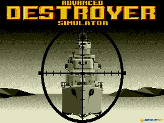 Advanced Destroyer Simulator - title cover