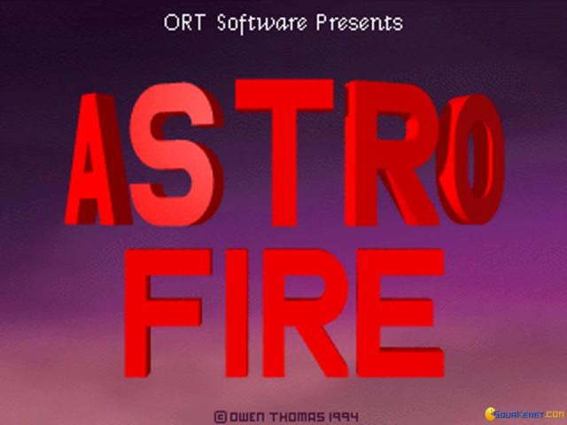 Astrofire - game cover