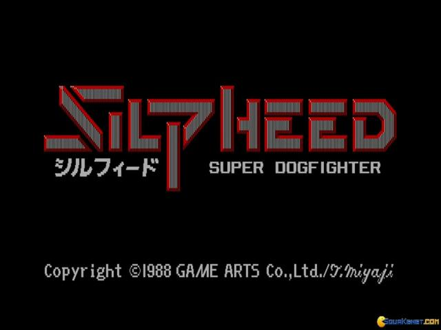Silpheed - title cover