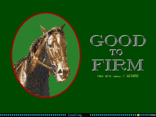 Good To Firm - game cover