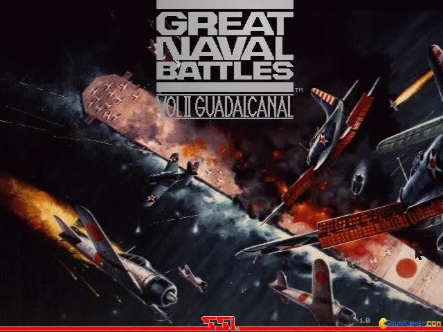 Great Naval Battles 2 - game cover