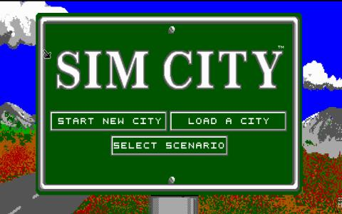 SimCity - title cover