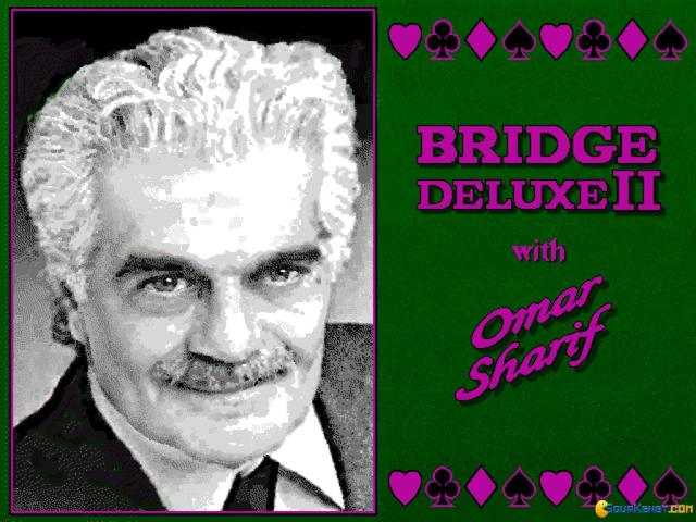 Bridge Deluxe 2 with Omar Sharif - game cover