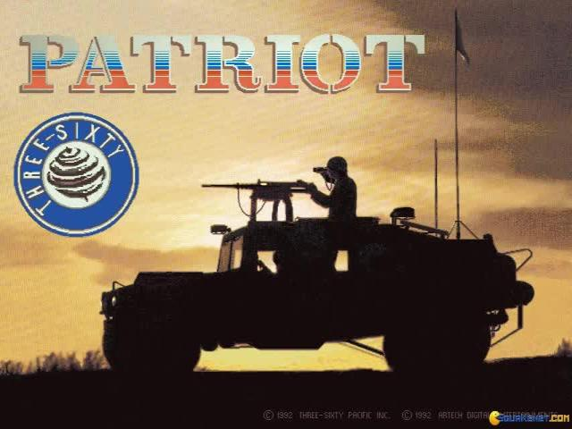 Patriot - title cover
