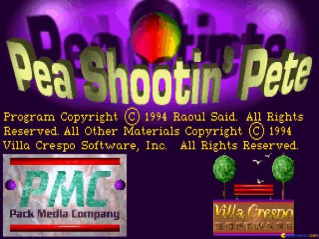 Pea Shootin Pete - title cover